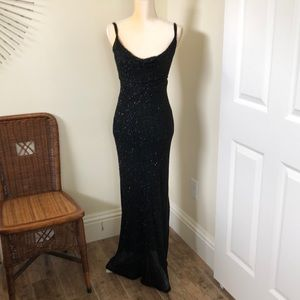 Black Prom evening gown
